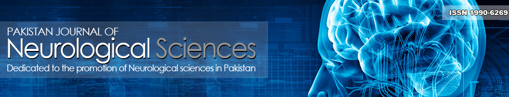 Pakistan Journal of Neurological Sciences