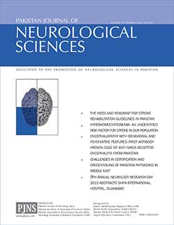 PJNS Journal Artical Volume 10, Number 2, Apr – Jun 2015
