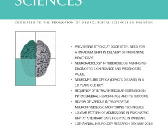 PJNS Journal Artical Volume 11, Number 2, Apr – Jun 2016