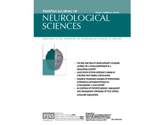 PJNS Journal Article Volume 11, Number 3, Jul – Sep 2016