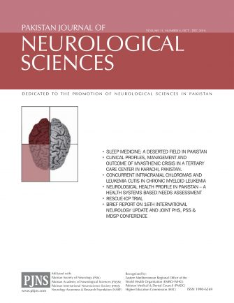 Pkjns Journal Volume 11, Issue 4 (2016)
